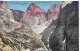 AK 0117  Grasleiten-Kessel Und Hütte Im Rosengarten ( Dolomiten ) - Verlag Amonn Ca. Um 1920 - Bolzano (Bozen)