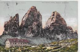 AK 0117  Drei Zinnen-Hütte ( Sextner Dolomiten ) - Verlag Redlich Um 1911 - Belluno