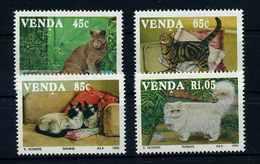 VENDA 1993 Nr 250-253 Postfrisch (107707) - Raubkatzen