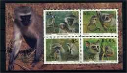 VENDA 1994 Bl.12 Postfrisch (107703) - Affen