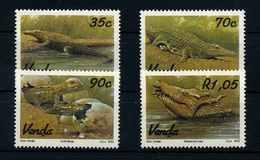 VENDA 1992 Nr 246-249 Postfrisch (107710) - Reptilien & Amphibien