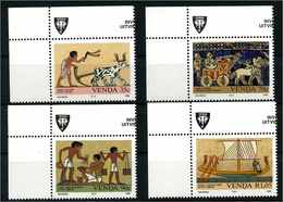 VENDA 1992 Nr 242-245 Postfrisch (107709) - Schiffahrt