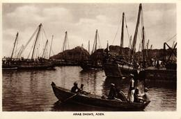 ARABIE SAOUDITE - ADEN - ARAB DHOWS - ADEN - Arabie Saoudite