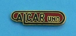1 PIN'S //  ** LOGO / ALCAR UNO ** - Food