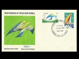 Papua New Guinea 1975 Independence FDC - Papua New Guinea