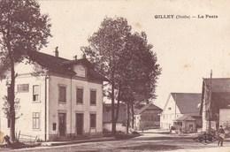 Doubs - Gilley - La Poste - France