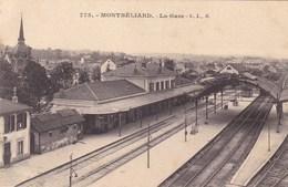 Doubs - Montbéliard - La Gare - Montbéliard