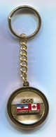 OLYMPIC OLYMPIADE COMMITTEE YUGOSLAVIA & CANADA  KEYCHAIN KEYRING - Apparel, Souvenirs & Other