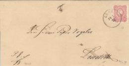 Deutsches Reich 4 Auf Brief Nachverw. Hannover-Stempel Lehe - Allemagne
