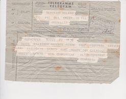 Marine Marchande-Compagnie Maritime Belge-M/V Mahenge-telegramme Naufrage Du Mahenge-30/06/1952 - Vieux Papiers