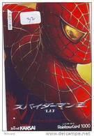 SPIDERMAN Carte Prépayée Japonaise (32) - Film