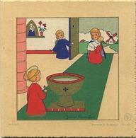 Geboorte - Naissance - Birth - Geburt : Arlette  ( 8.5  X 8.5  Cm )   James Pennylem  Nr 115 - Naissance & Baptême