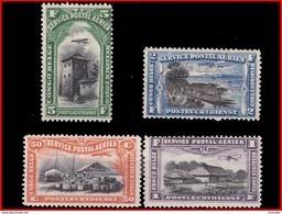 Congo PA 0001/4** / MNH - Poste Aérienne: Neufs