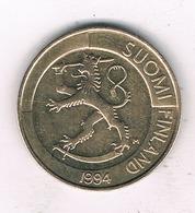 1 MARKKA 1994 FINLAND /9251/ - Finlande