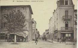 Drome : ROMANS-sur-ISERE : Avenue De La Gare - Romans Sur Isere