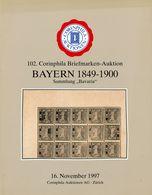 """BAYERN 1849 - 1900"" Sammlung BAvaria (Elster)  - 102. Corinphila 1997 - Catalogues For Auction Houses"