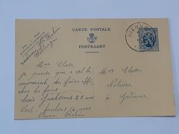 Lot De Deux Entiers Postaux Envoyés De Willerzie - Rienne Vers Gedinne .. Lot7 . - Postwaardestukken