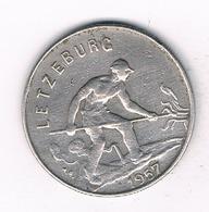 1 FRANC  1957 LUXEMBURG /9256/ - Luxembourg