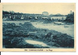 CARNAC Plage - Rivière Bureau éditeur N°5561 - évènement ? (la Foule - Animée) - Carnac