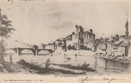 Drome : ROMANS-sur-ISERE : Romans En 1856 ( Précurseur ) - Romans Sur Isere