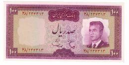 Iran 100 Rials 1965 UNC - Iran