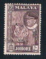 Malaya Johore 163 Used Sultan Ismali (BP22625) - Johore