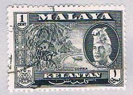 Malaya Kalantan 72 Used Sultan Ibrahim (BP23316) - Kelantan