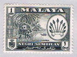 Malaya Negri Sembilan 64 MLH Arms Of Negri Sembilan (BP2318) - Negri Sembilan