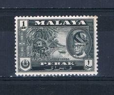 Malaya Perak 127 MNH Sultan Yussuf Shah (M0251)+ - Perak
