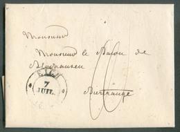 LAC De EICH (daté LUXEMBOURG) Le 7 Juillet 1832 Vers Birtrange - 13597 - Luxembourg