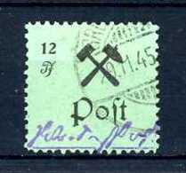 Z58580)Lokalausgabe Großräschen 25 II Gest. - Zona Sovietica