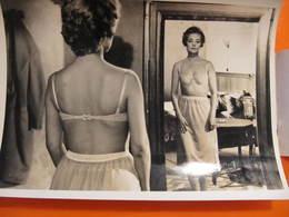 Photo O.R.T.F. - JEANNE MOREAU : TROIS JOUR A VIVRE - Format : 18 X 13 Cm - Célébrités
