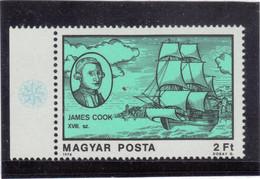 B12 - HONGRIE - PO 3116 ** MNH De 1987 - JAMES COOK Vers L'  ANTARCTIQUE - - Hongrie