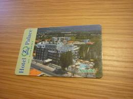 Greece Xanthi Z Palace Hotel Room Key Card - Cartes D'hotel