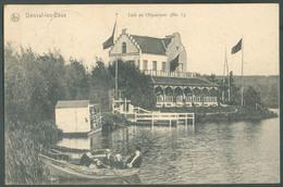 CP De GENVAL Les EAUX - Café De L'Aquarium 1908 - 13602 - Rixensart