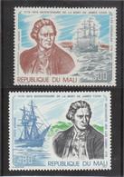 B12 - MALI - PA 364/365 ** MNH De 1979 - JAMES COOK  Et RESOLUTION  à KERGUELEN - à HAWAII - - Mali (1959-...)