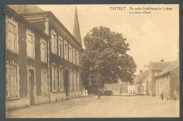 CP De TESTELT (Montaigu Zichem) De Oude Lindebomm In 't Dorp Le Vieux Tilleul - 13606 - Belgique