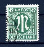 Z59316)Bizone 31 D Gest., Best. Gepr. Schlegel - Zone Anglo-Américaine