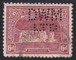 Tasmania 1910 P.11 SG 254a Used Perf DWM LTD - 1853-1912 Tasmania