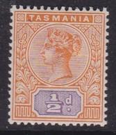 Tasmania 1892 SG 216 Mint Hinged - 1853-1912 Tasmania