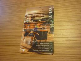 Greece Xanthi Z Palace Hotel Room Key Card (bar) - Cartes D'hotel