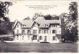 CPA DAMBLAINVILLE 14 - Château Du Mesnol Soleil - Autres Communes
