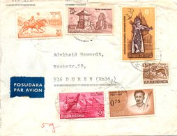 INDONESIE. Belle Enveloppe Ayant Circulé En 1963. - Indonesia