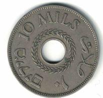 PALESTINE - 10 MILS 1937 - Israel