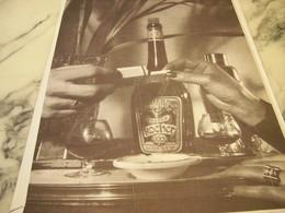 ANCIENNE PUBLICITE CHERRY ROCHER DIGESTIF 1952 - Affiches