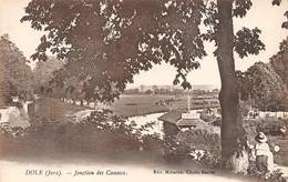 Dole Karrer Jonction Des Canaux Canal Bateau Lavoir - Dole