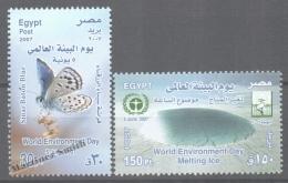 Egypt 2007 Yvert 1967-68, World Environment Day - MNH - Egypt