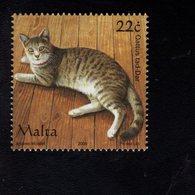 693919654 MALTA POSTFRIS MINT NEVER HINGED POSTFRISCH EINWANDFREI SCOTT 1238P HOUSE CAT - Malte