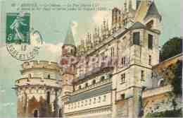 CPA Amboise Le Chateau La Tour Charles VIII Et Balcon De Fer Forge - Amboise