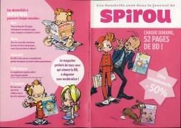 SPIROU Depliant Pour Le Magazine Spirou (2) - Otros